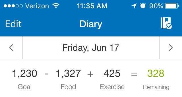 calorie caount 1